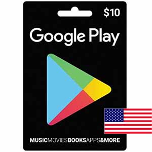 Google Play $10 USA Gift Card