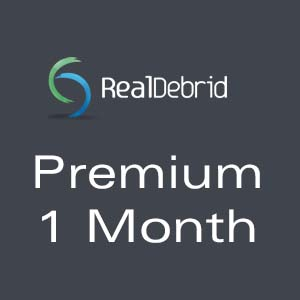 Real-Debrid Premium 1 Month