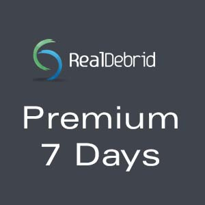 Real-Debrid Premium 7 Days